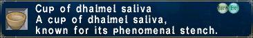 Dhalmel-Saliva