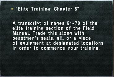 EliteTrainingChapter6