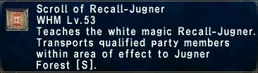 Recall-Jugner