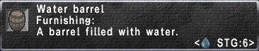 Waterbarrel