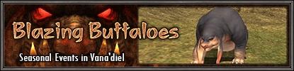 Blazing Buffaloes Banner