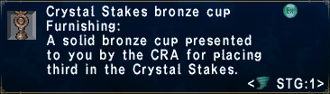 CrystalStakesBronzeCup