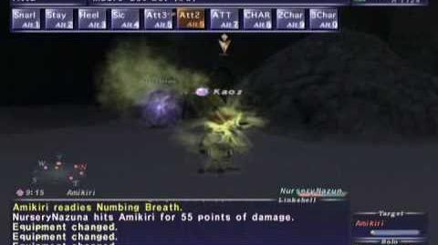 FFXI NM Saga 232 Amikiri vs BST85 Solo (Epic Battle)