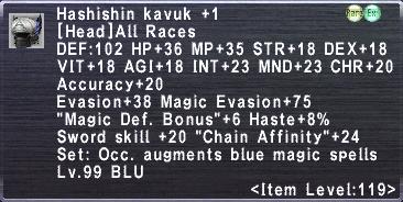 Hashishin Kavuk +1