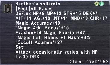 Heathen's Sollerets