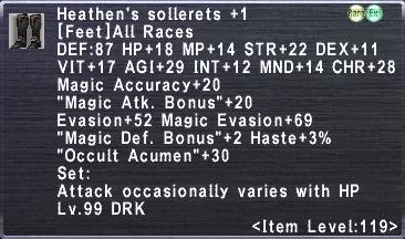 Heathen's Sollerets +1