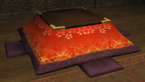 Kotatsu Table Mog House