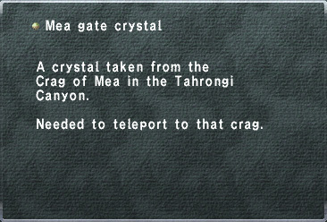 Mea Gate Crystal