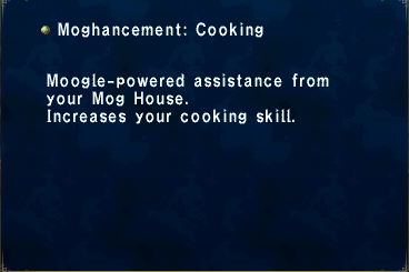 Moghancement Cooking