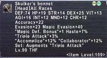 Skulkers Bonnet