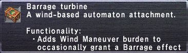 Barrage Turbine