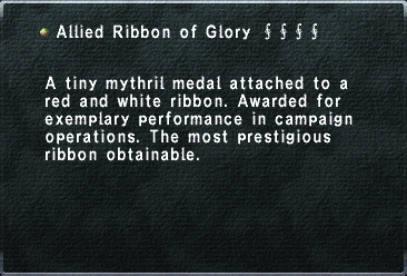 Allied Ribbon of Glory