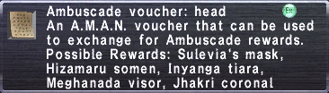 Ambuscade Voucher-Head