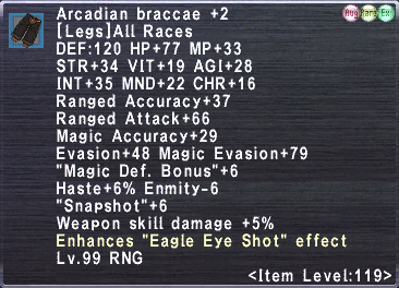 Arcadian Braccae +2