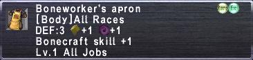 Boneworker's Apron