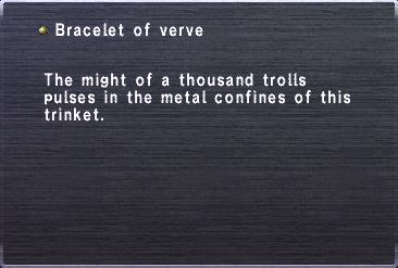 Bracelet of verve
