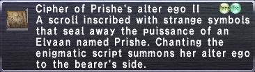 Cipher-Prishe II
