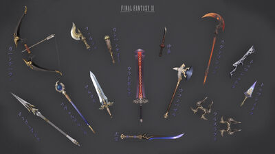 Empyrean weapons