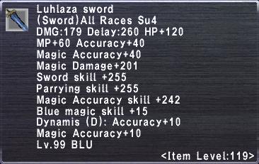 Luhlaza Sword