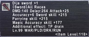 Dija Sword +1