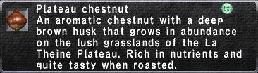Plateau Chestnut