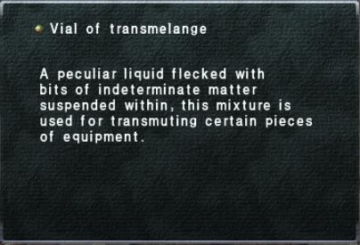 Vial of Transmelange
