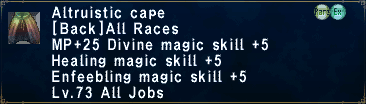 Altruistic Cape