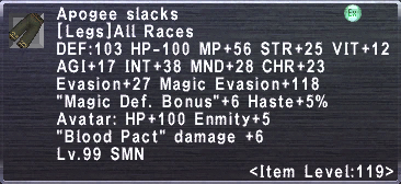 Apogee Slacks