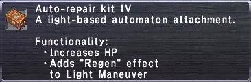 Auto-Repair Kit IV