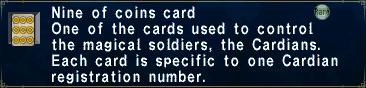 Card nineofcoins