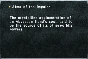 Atma of the Impaler