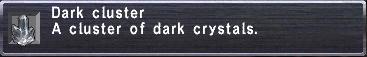Dark Cluster