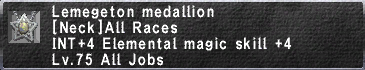 Lemegeton medallion