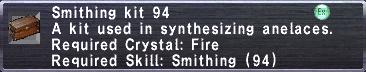 Smithing Kit 94