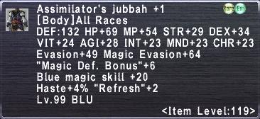 Assimilator's Jubbah +1