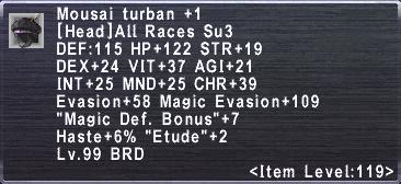 Mousai Turban +1