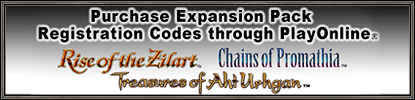 PlayOnline Launches Expansion Pack Registration Code Sales! (07-23-2007)