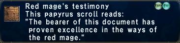 Rdm testimony