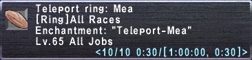 Teleport ring mea