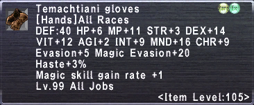 Temachtiani Gloves