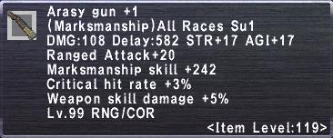 Arasy Gun Plus 1