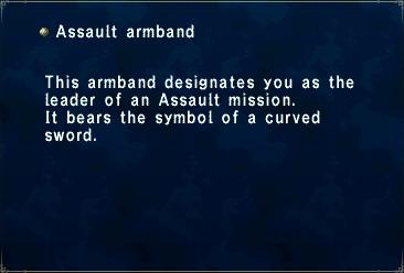 Assault Armband