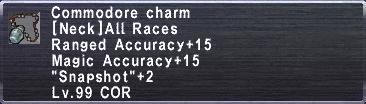 Commodore Charm