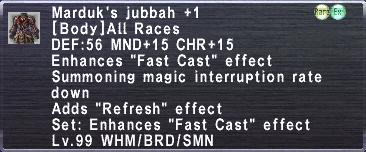 Marduk's Jubbah +1
