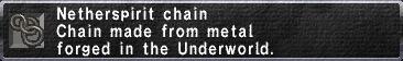 Netherspirit Chain