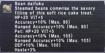 Bean daifuku