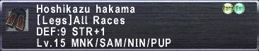 Hoshikazu Hakama