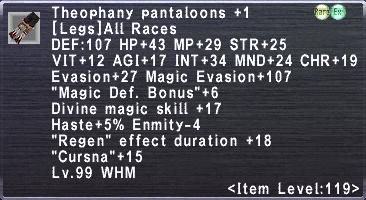 Theophany Pantaloons Plus 1