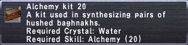 Alchemy Kit 20