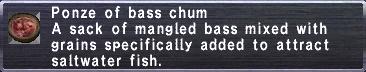 Bass Chum